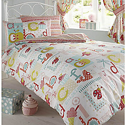ABC, Childrens Single Bedding
