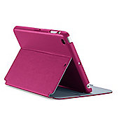 StyleFolio for iPad Mini with Retina display - Fuchsia Pink/Nickel Grey