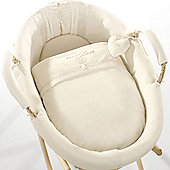 Natures Purest Pure Love - Dressed Moses Basket