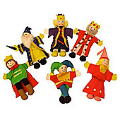 Bigjigs Toys BJ704 Royalty Finger Puppets