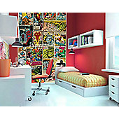 1Wall Marvel Comic Strip Wall Mural