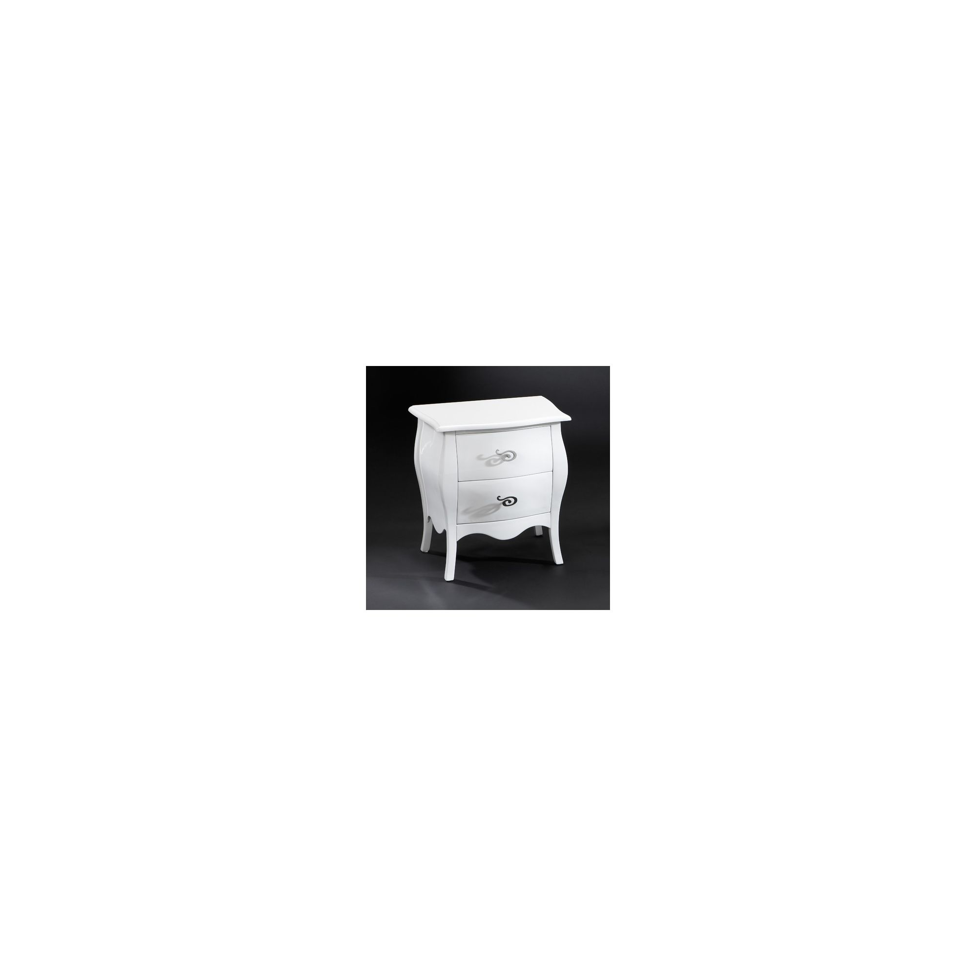 Schuller Mesita Night Table - White at Tesco Direct
