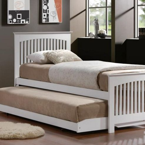 Buy Toronto Trundle Bed White From Our Single Beds Range