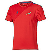 Asics South Africa Springboks S/S Top RWC 2015 - Red