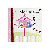 Tweety Christening Day Card - Pink