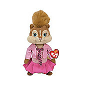 Ty Beanie Baby Alvin And The Chipmunks - Brittany Plush Toy