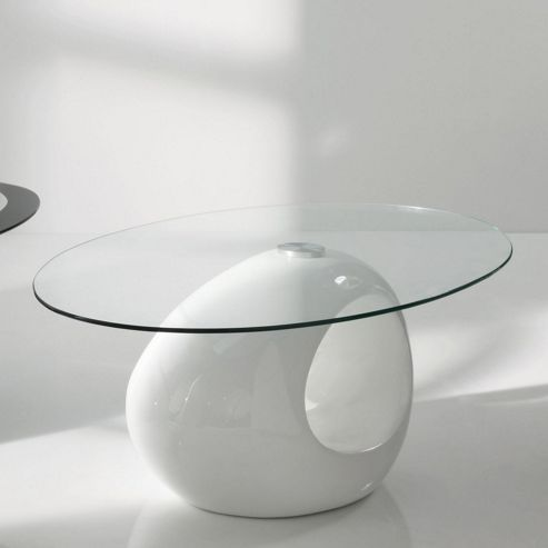 Wilkinson Furniture Orbis Coffee Table - White