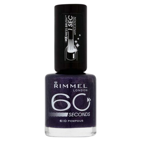 Rimmel 60 Seconds Nail Polish Pompous