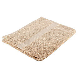 Tesco Basics Bath Towel, Latte