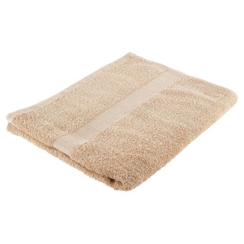 Tesco Basic latte Bath Towel