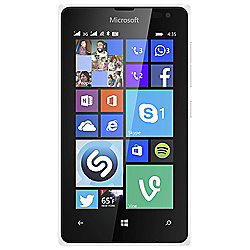 Tesco Mobile Microsoft Lumia 435 White