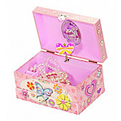 Butterfly Girl's Musical Jewellery Box