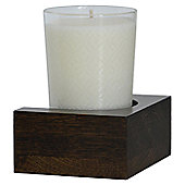 Wireworks Simline Candle / Tumbler Shelf - Dark Oak