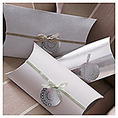 Tesco Silver Pillow Packs, 3 Pack
