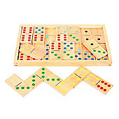 Bigjigs Toys BJ157 Jumbo Dominoes