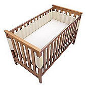 Safe Dreams Cot Wrap 4 Sided Ivory