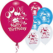 9' Disney Minnie Mouse Happy Birthday (6pk)