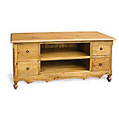 Ultimum Classic Pine 4 Drawer TV Stand