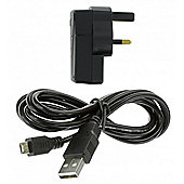 2in1 Mains Charger with Micro USB cable for Tablets 2.1A