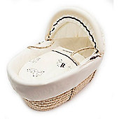 Kinder Valley Daisy Boo Moses Basket (Natural)