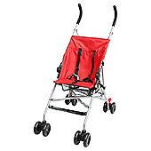 Tesco Umbrella Fold Pushchair, Red