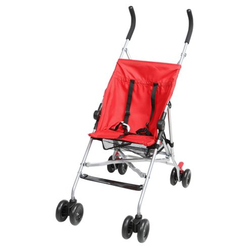 Tesco Basic Stroller, Red