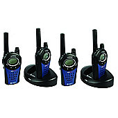 Cobra Mt975 PMR Radio Quad Pack