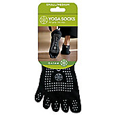 Gaiam Yoga Socks, Small/Medium