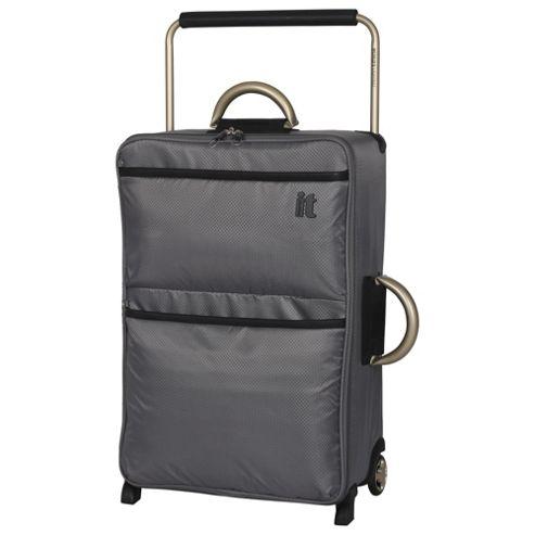 it luggage world 39 s lightest trolley suitcase medium. Black Bedroom Furniture Sets. Home Design Ideas