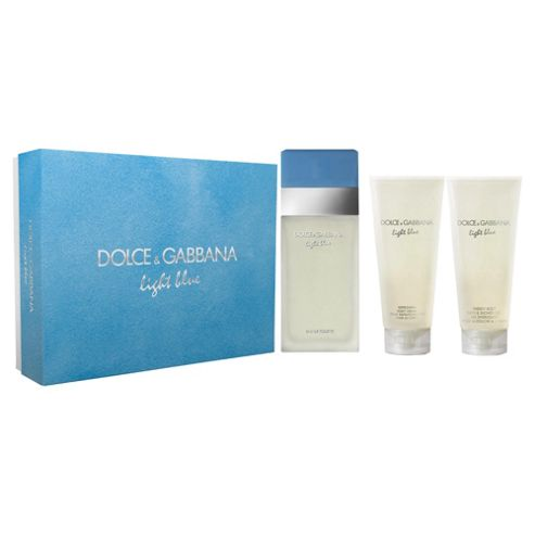 Dolce & Gabanna Light Blue Ladies 100ml Eau de Toilette Gift Set