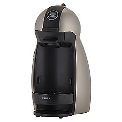 Nescafe Dolce Gusto Piccolo Titanium Multi Beverage Coffee Machine by Krups