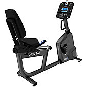 Life Fitness RS1 Step Through Recumbent Cycle Exercise Bike with Track+ Console