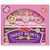 Sweet Hearts Wooden Beads Set - Melissa & Doug