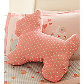 Catherine Lansfield Home Kids Scottie Dog cushion Pink