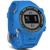 Garmin Approach S2 Golf GPS Rangefinder Blue Watch 38000 Worldwide Golf Courses