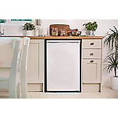 Russell Hobbs Under Counter Freezer, 55cm Wide, RHUCFZ55 - White