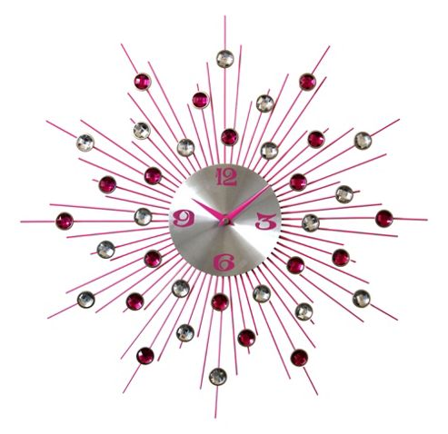 Pharmore Ltd Medium Wall Clock - Pink