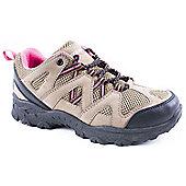 Mountain Peak Ladies Mount Nimba Brown Hiking Shoes - Brown