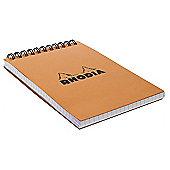 Rhodia Classic Wrbnd Pad 80 Detach. Sh. 10.5X14.8Cm Sq.5X5 13500C