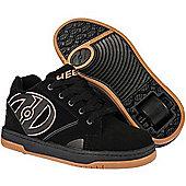 Heelys Propel 2.0 Black/Gum Kids Heely Shoe - Black