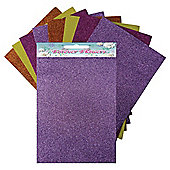 Citrus Glitter Pad 8 Sheets