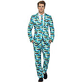 Aloha Stand Out Suit - Adult Costume Size: 46-48