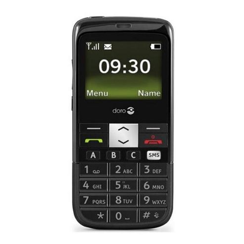 Doro PhoneEasy 332gsm Black