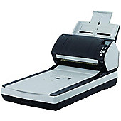 Fujitsu Fi-7280 Sheetfed Flatbed Scanner PA03670-B501 80ppm / 160ipm scanning 80-sheets Automatic Document Feeder LED light-source Built-in flatbed