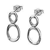 IT Diamonds Rhodium ALLURE Diamond Stud Earrings