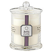 Tesco Apothecary Black Fig and Cassis Candle in a Large Filled Jar