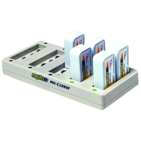 MH-C1090 F Professional Ten Bank 9V Rapid Charger