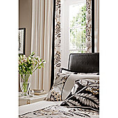 Catherine Lansfield Home Signature Shrewbury Curtains 168cm wide x 183cm drop (66x72 inches) Black