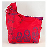 Okiedog Candy Pop Snug Red/Purple Baby Changing Bag