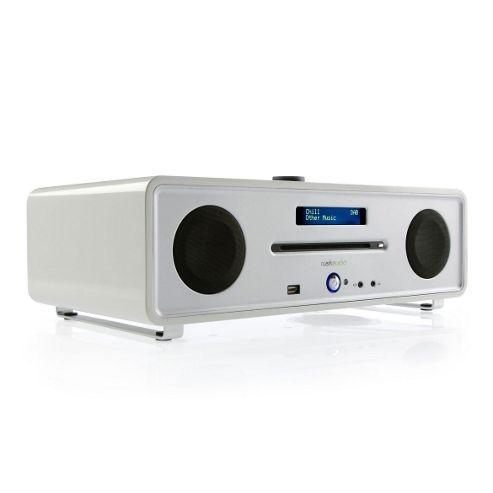 Ruark Audio R4i CD DAB FM Radio iPod Dock System, Dream White